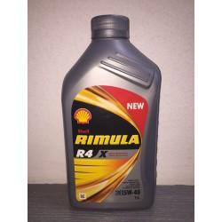 SHELL RIMULA R4 X 15W40 - 1 LITRO