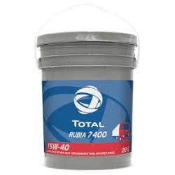 TOTAL RUBIA TIR 7400 15W40 - 20 LITROS