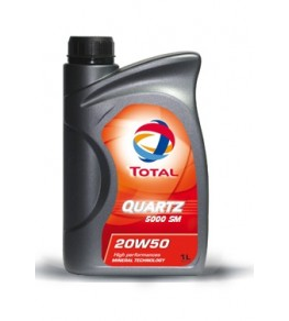 TOTAL QUARTZ 5000 SM 20W50...