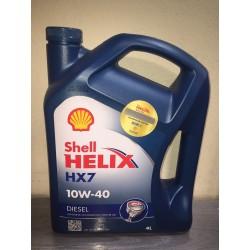 SHELL HELIX HX7 10W40 SEMI SINTETICO - 4 LITROS