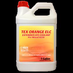 TEX ORANGE ELC COOLANT - 3,785 LITROS