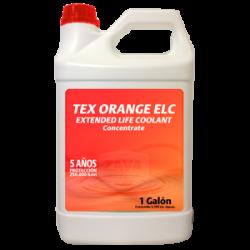 TEX ORANGE ELC CONCENTRATE COOLANT - 3,785 LITROS